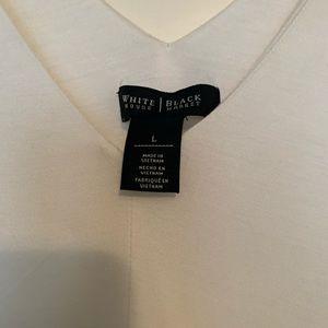 White house black market flutter sleeved top/shirt